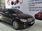 Cần bán xe Mercedes C200 năm 2008, màu đen, nhập khẩu nguyên chiếc
