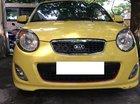 Bán Kia Morning SLX 1.0 AT đời 2010, màu vàng, nhập khẩu, giá tốt