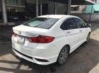 Bán Honda City TOP 1.5CVT màu trắng, số tự động, sản xuất 2017, đăng ký 2018, đi 28000km