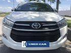 Bán xe Toyota Innova 2.0E năm 2017, màu trắng, BS TpHCM, trả góp 200tr