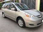 Đổi xe mới cần bán Sienna sx 2009, số tự động, bản LE, nhập Mỹ, màu bạc