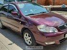 Bán xe Corola Altis 1.8 MT 2002, số sàn, màu đỏ đô quý phái, gầm bệ chắc chắn