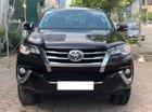 Bán Toyota Fortuner đời 2017, màu đen, nhập khẩu