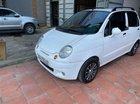 Cần bán Daewoo Matiz MT năm 2007, màu trắng,  Cam kết xe nhà tôi không có lỗi