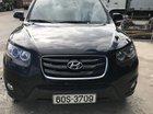 Bán Hyundai Santa Fe 2.0 AT đời 2009, màu đen, 640tr