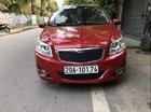 Cần bán lại xe Daewoo GentraX đời 2011, màu đỏ, xe nhập xe gia đình
