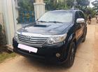 Cần bán Toyota Fortuner G sản xuất năm 2013, màu đen