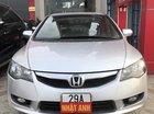 Cần bán xe Honda Civic 1.8 VTI AT đời 2011, màu bạc