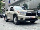 Bán Toyota Highlander sản xuất 2016, màu vàng cát nhập khẩu Mỹ