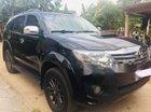 Bán lại xe Toyota Fortuner G năm sản xuất 2013, màu đen