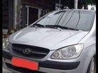 Bán Hyundai Getz MT năm sản xuất 2009, màu bạc, nhập khẩu, xe đẹp