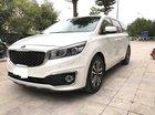 Kia Sedona 2.2 DATH màu trắng, máy dầu sản xuất 2018 biển Hà Nội