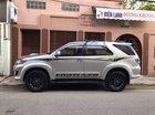 Bán Toyota Fortuner 2.5G đời 2016, màu bạc, số sàn