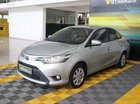 Cần bán xe Toyota Vios E 1.5AT sản xuất 2017, màu bạc