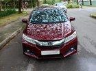 Cần bán xe Honda City 1.5CVT năm sản xuất 2017, màu đỏ, giá 485 triệu