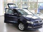 Bán Volkswagen Polo 1.6AT đời 2014, màu xanh lam, nhập khẩu