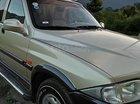 Xe Ssangyong Musso 2.3 năm sản xuất 2003, màu vàng, giá tốt