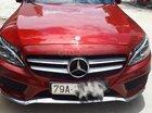 Bán Mecedes C300 AMG sản xuất năm 2016 đăng ký 2018, số tự động, máy xăng, màu đỏ