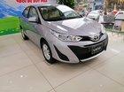 Bán Toyota Vios 1.5E MT 2019, màu bạc, xe mới