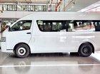 Bán xe Toyota Hiace nhập khẩu màu trắng, màu bạc giao xe ngay khuyến mãi hấp dẫn