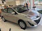 Bán Toyota Vios 1.5E CVT đời 2019, màu vàng