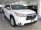 Bán Toyota Highlander màu trắng đời 2015, mới 100% nhập khẩu Mỹ