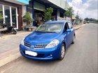 Cần bán xe Nissan Tiida đời 2008, màu xanh lam số tự động, giá 320tr