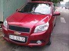Cần bán lại xe Chevrolet Aveo sản xuất năm 2017, màu đỏ xe gia đình