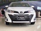 Bán Toyota Vios G 2019, số tự động, máy xăng, nội thất da màu kem