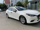 Bán Mazda 3 màu trắng, sản xuất đăng ký lăn bánh 11-2017, đăng kiểm phí đường bộ dài
