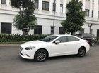 Bán Mazda 6 AN 2.0 màu trắng đời 2017 - Đk 24/12/2016