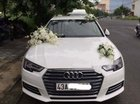 Bán Audi A4 màu trắng, số tự động, máy xăng 2016 đăng kí 2017