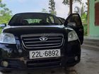 Gia đình bán ô tô Daewoo Gentra đời 2010, màu đen, giá tốt