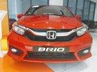 Bán Honda Brio V đỏ, xe nhập khẩu, giá cực rẻ, vay 90% chỉ cần 100Tr nhận xe