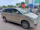 Bán lại xe Toyota Innova đời 2014, màu bạc, xe gia đình