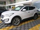 Bán xe Hyundai Santa Fe 2.4AT 4WD năm sản xuất 2015, màu trắng