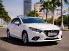 Chính chủ bán Mazda 3 1.5G đời 2015, màu trắng, nhập khẩu