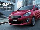 Bán Mitsubishi Attrage CVT sản xuất năm 2019, màu đỏ, nhập khẩu