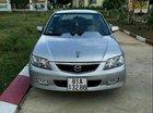 Cần bán lại xe Mazda 323 đời 2003, màu bạc