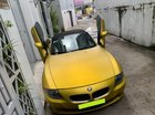 Đổi gió bán BMW Z4, 2008, số sàn, mui xếp tự động, màu vàng, full option