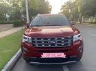 Cần bán lại xe Ford Explorer Limited 2.3L EcoBoost 2017, màu đỏ, xe nhập xe gia đình