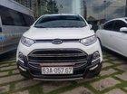 Bán Ford Ecosport bán cao cấp Titanium số tự động, xe màu trắng còn rất đẹp