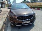 Bán xe Kia Sedona GAT năm sản xuất 2015, màu nâu