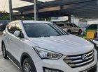 Gia đình bán Hyundai Santa Fe đời 2015, màu trắng