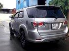 Bán Toyota Fortuner đời 2015, màu bạc