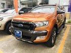 Cần bán Ford Ranger Wildtrak 3.2 L, 2 cầu đời 2015, màu cam, nhập khẩu nguyên chiếc
