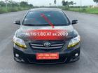 Bán ô tô Toyota Corolla Altis 1.8G AT đời 2009, màu đen