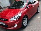 Bán Hyundai Accent năm sản xuất 2013, màu đỏ, nhập khẩu, xe nhà sử dụng