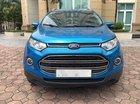 Bán Ford EcoSport 1.5L AT Titanium sản xuất 2016, màu xanh lam, biển Hà Nội