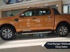 Cần bán Ford Ranger Wildtrack sản xuất năm 2018, màu nâu, nhập khẩu, giá chỉ 838 triệu
